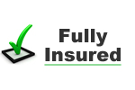 Full public liability insurance for your peace of mind